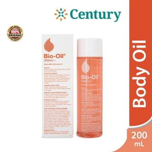 Foto Produk Bio Oil 200Ml / Bekas Luka / Stretch Mark / Selulit /Kulit Kering dari CENTURY HEALTHCARE