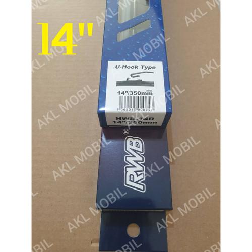 Foto Produk Wiper Mobil Hybrid RWB Per 1 Pcs - 14 inch dari AKL Mobil