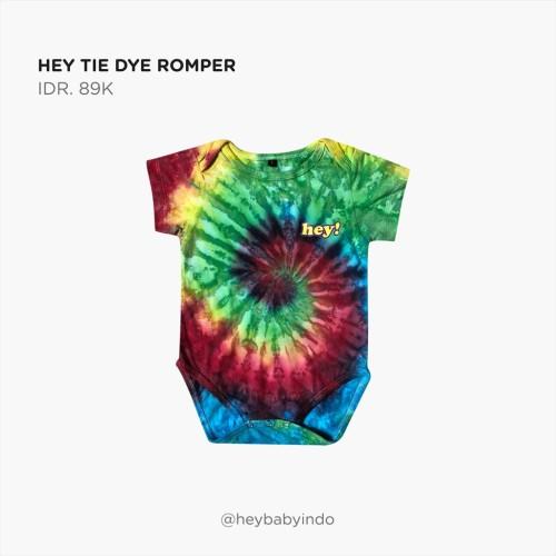 Foto Produk Hey Baby Hey Tie Dye Romper - 12-18m dari Hey! Baby
