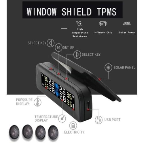 Foto Produk Solar TPMS Tire Pressure Monitor Pengukur Tekanan Angin Ban Mobil dari Gentleman Car