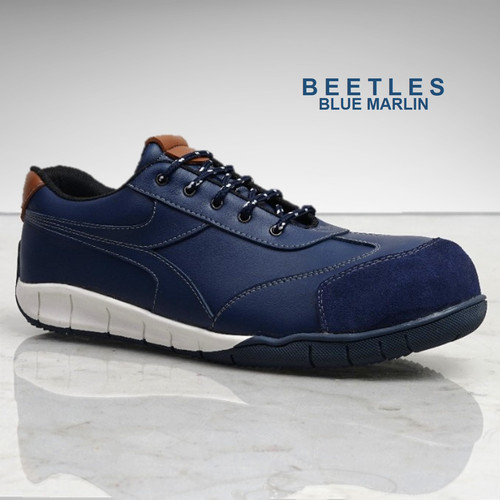 Foto Produk SEPATU KERJA SAFETY SHOES BLUMAR BEETLES BLUE (Ada besi diujung depan) - 39 dari Eurostat Safety Shoes