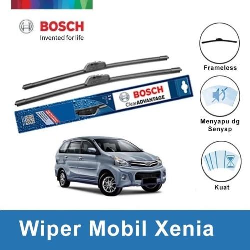 Foto Produk Bosch Sepasang Wiper Mobil Daihatsu New Xenia Frameless 20 & 16 dari BOSCH by Klik Onderdil