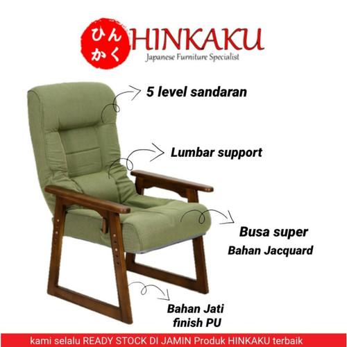 Foto Produk Kursi Jepang S1W-06G7 - Hijau dari Hinkaku Official