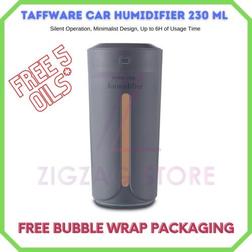 Foto Produk Air Humidifier Difuser / Car Humidifier Difuser Taffware Cup 230ml dari ZigZag-Store