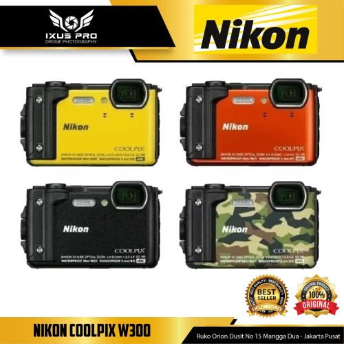 Foto Produk Nikon COOLPIX W300 Digital Camera Wifi Dan Video 4k - nikon W300 dari ixuspro