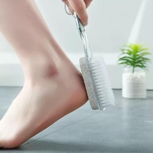 Foto Produk Sikat Kaki 2 Sisi Pedicure Alat manikur Pedikur Pembersih Feet Foot - Motif 2 dari Shiny Electro