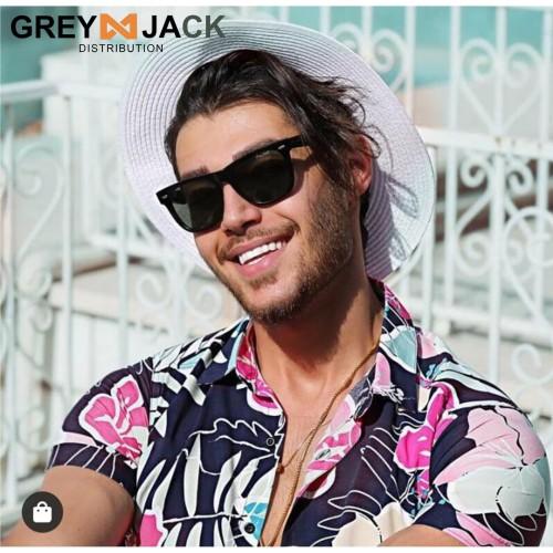 Foto Produk Grey Jack/ Kacamata Hitam Pria/ Sunglasses /1104 - Hitam glossy dari Grey Jack