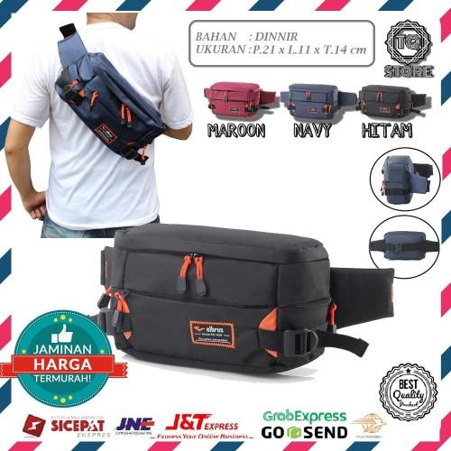 Foto Produk Tas selempang pria / Waist bag outvin tas pinggang soulderbag - Maroon dari TQSTORE9