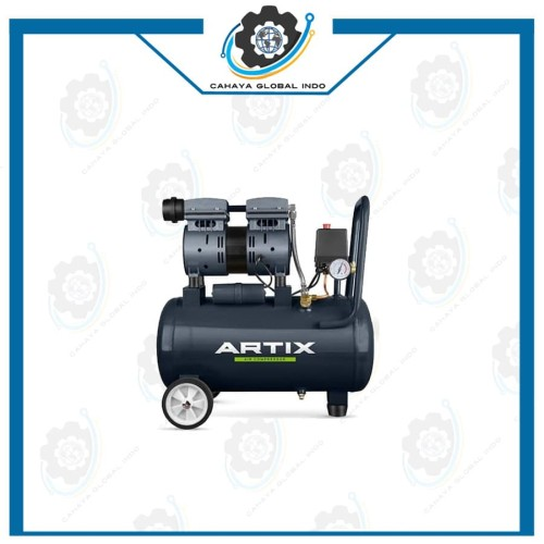 Foto Produk Kompresor ARTIX 24 / Air Compressor oiless ARTIX OA07-24 24Liter dari Cahaya Global Indo