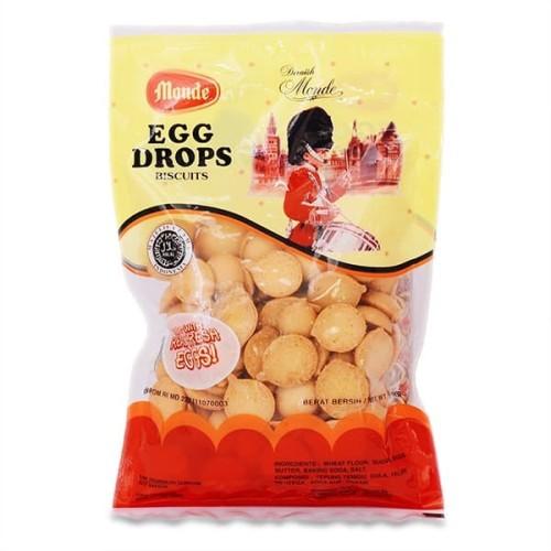 Foto Produk Monde Egg Drop Drops 110 gr 110gr dari Logan Market