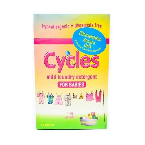 Foto Produk Cycles Baby Detergent - Powder 1kg - POWDER 1KG dari Chubby Baby Shop