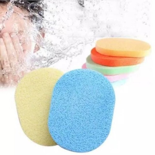 Foto Produk Spons Pembersih Wajah Facial Mask Sponge Spons cuci muka dari serba grosir murah