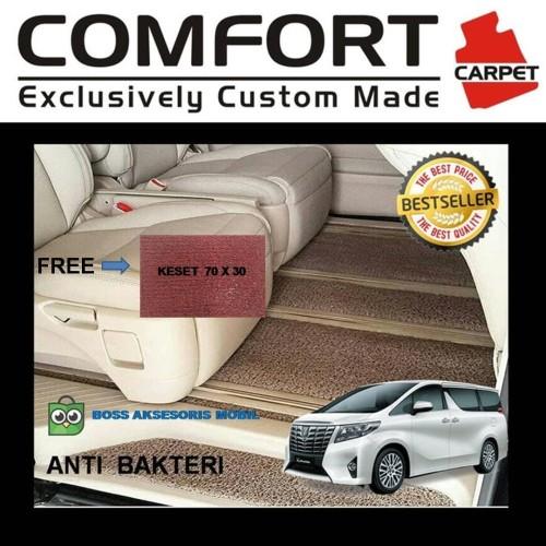 Foto Produk Karpet Mobil Comfort Deluxe Alphard,Vellfire,Voxy,Elgrand,Serena dari Boss Aksesoris Mobil