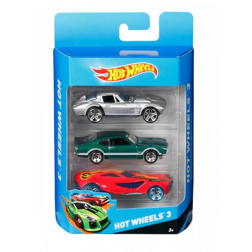 Foto Produk HotWheels Assortment Cars - 3 Pack (Assorted) dari Mothercare ELC Official