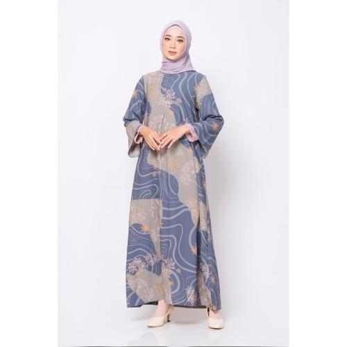 Foto Produk ZM Zaskia Mecca - Luny Dark Grey Dress Jelita Indonesia Edisi Maluku - XXL dari Zaskia Mecca Official