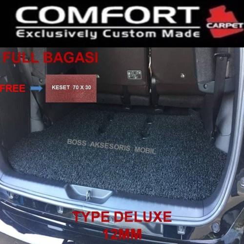 Foto Produk Karpet Mobil Comfort Deluxe Khusus Fortuner 2016 3 Baris + Bagasi dari Boss Aksesoris Mobil