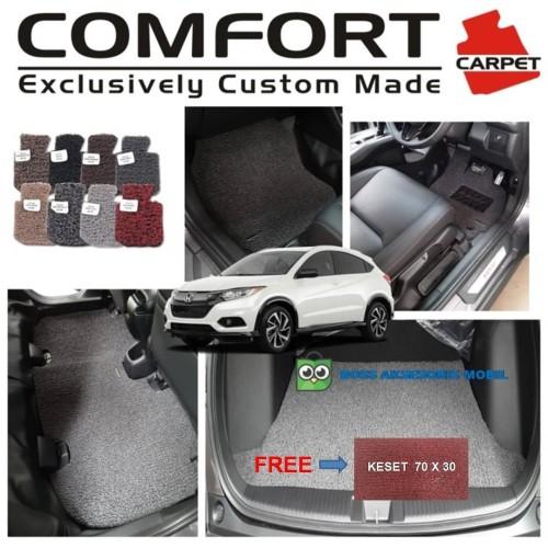 Foto Produk Karpet Mobil Comfort Premium HRV 2 Baris + Bagasi dari Boss Aksesoris Mobil