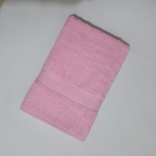 Foto Produk Terry Palmer Handuk Mandi POLOS NO LABEL ukuran 60 x 120 cm - Merah Muda dari BILANGAN3HANDUK