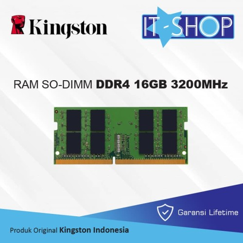 Foto Produk Kingston Memory Sodimm 16GB DDR4 3200 - KVR32S22D8/16 dari IT-SHOP-ONLINE