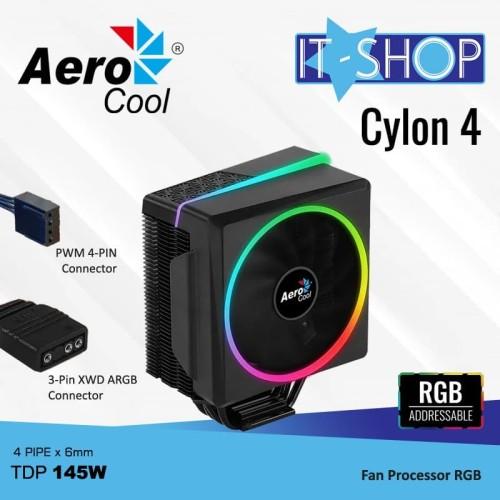Foto Produk Aerocool Fan Processor CYLON 4 dari IT-SHOP-ONLINE