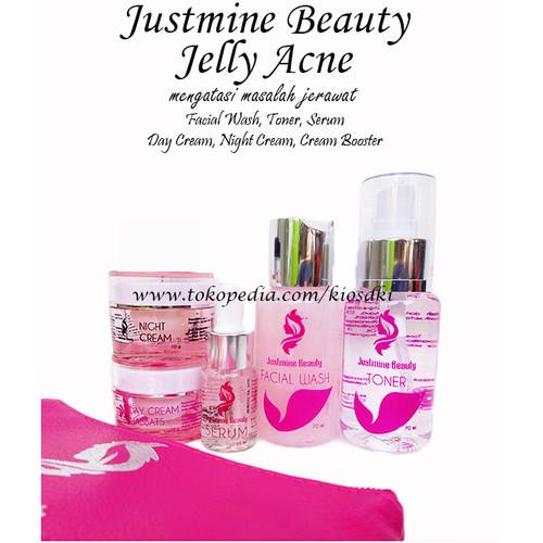 Foto Produk JUSTMINE BEAUTY PAKET ACNE|JUSTMINE SKINCARE PAKET A2 ACNE|JERAWAT dari kiosDKI
