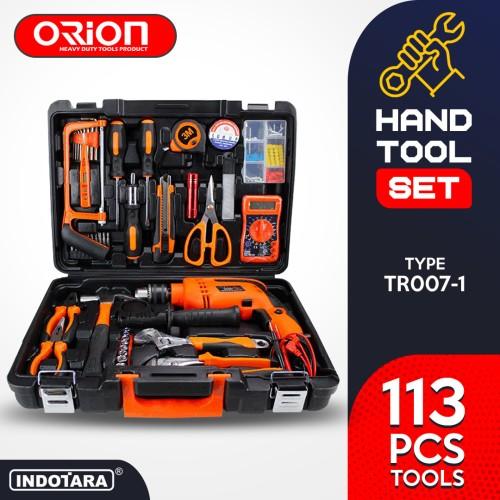 Foto Produk Hand Toolset / Tool Kit Set / Toolkit Toolbox Orion TR-007-1 dari PT. Indotara Persada