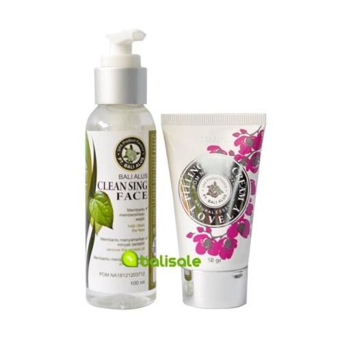 Foto Produk Paket Peeling + Cleansing Face Bali Alus dari debalisale