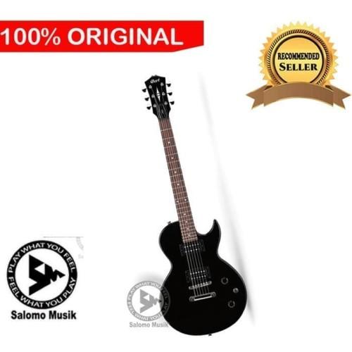 Foto Produk Gitar Elektrik Electric Cort CR 50 BK dari Salomo Musik