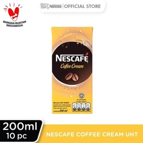 Foto Produk NESCAFE Coffee Cream UHT 200ml 10pcs dari Nestle Indonesia
