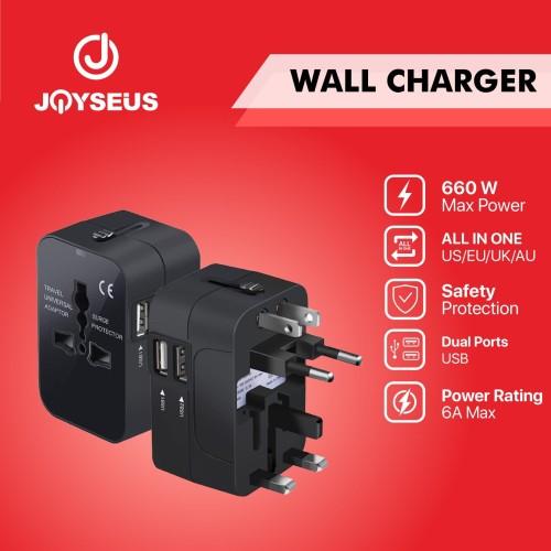 Foto Produk JOYSEUS A1 International Universal All in One Charger - CL0001 dari Joyseus Official Store