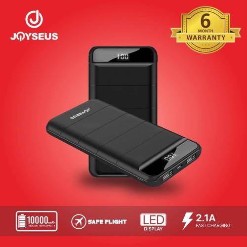 Foto Produk JOYSEUS Power Bank 10000mah LED Digital Portable Charger PB0010 dari Joyseus Official Store