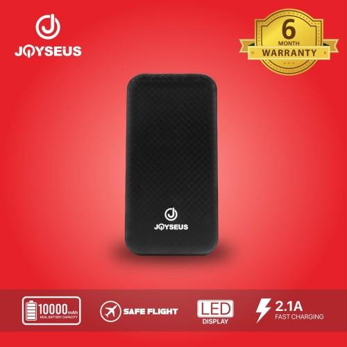 Foto Produk PowerBank Dual USB 10000mah Joyseus JP62 Ultra Thin - PB0005 dari Joyseus Official Store