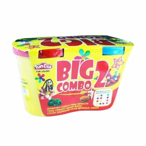 Foto Produk Fun Doh BIG COMBO 2 Refill - Lilin Mainan Anak FunDoh PlayDoh Play Doh dari markasfancy