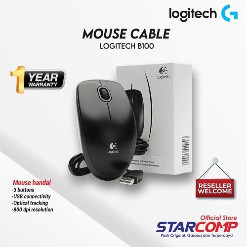 Foto Produk Mouse Logitech B100 USB dari StarComp