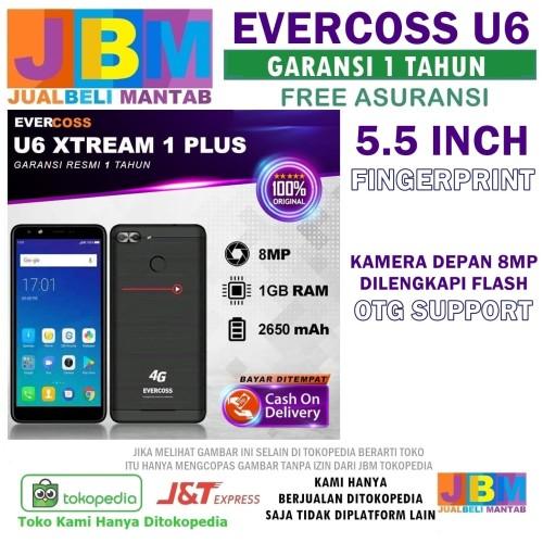 Foto Produk HP Android Murah Pesaing Xiaomi Oppo Vivo Samsung EVERCOSS U60 4G dari Jual Beli Mantab