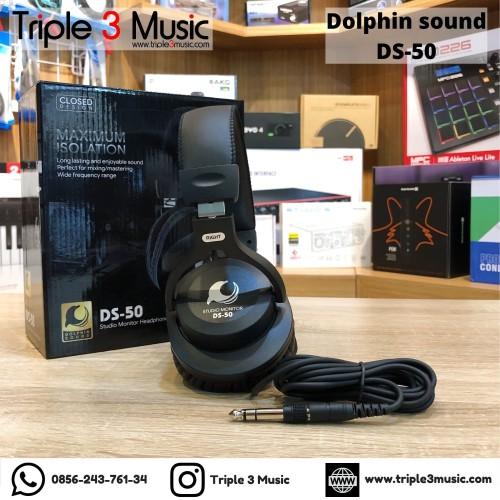 Foto Produk Dolphin Sound ISK DS50 DS-50 Headphone monitor Flat Closed dari triple3music