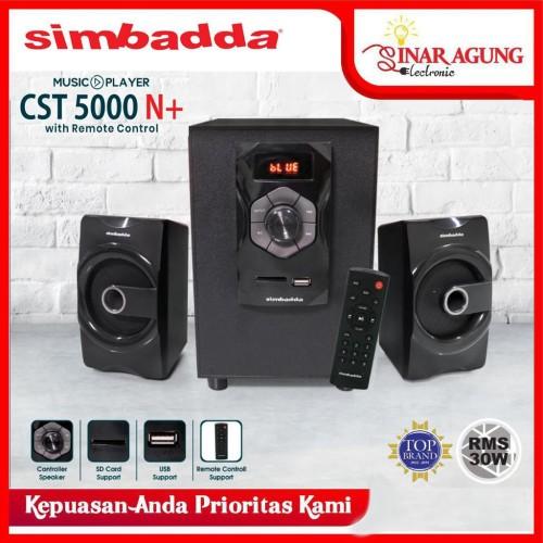 Foto Produk SIMBADDA SPEAKER BLUETOOTH CST-5000N+ CST5000N+ WITH REMOTE - RESMI dari sinar agung electronic
