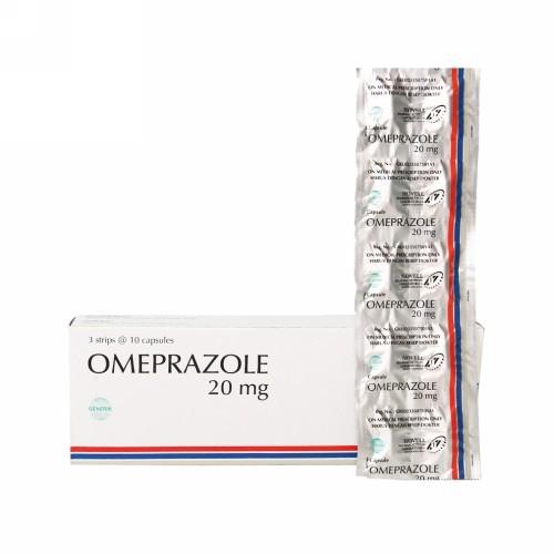 Foto Produk OMEPRAZOLE NOVEL 20 MG STRIP 10 TABLET dari Apotek Labora Jaya
