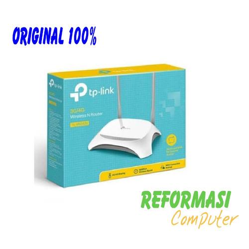 Foto Produk TP-LINK TL-MR 3420 Router 4G/3G USB Modem NEW FIRMWARE TPLINK MR3420 dari REFORMASI COMPUTER
