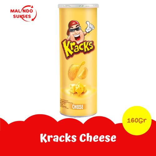 Foto Produk Kracks Potato Chips Cheese 160gr dari Malindo Sukses Online