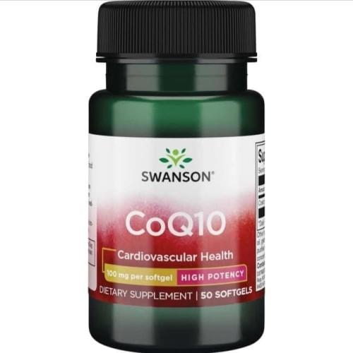 Foto Produk Swanson coq10 100 mg isi 100 softgel coenzyme q10 - Isi 50 dari vitamindo