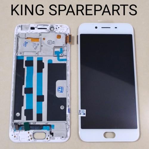 Foto Produk LCD TOUCHSCREEN FRAME OPPO R9S ORIGINAL - Putih dari KING sparepart