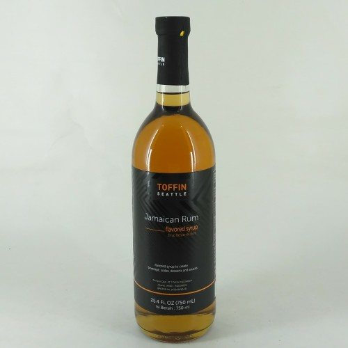 Foto Produk Toffin Jamaican Rum Syrup - Sirup Rasa Rum Jamaica - 750 ml dari Kopi Jayakarta