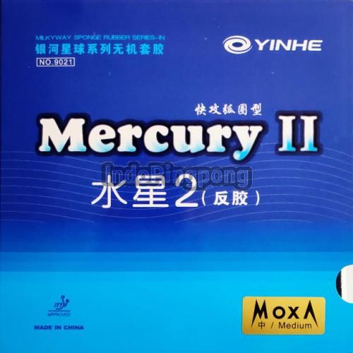 Foto Produk Yinhe Mercury II Medium (max) ~ Rubber Karet - Hitam dari IndoPingpong