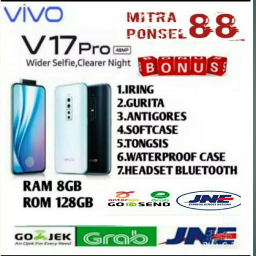 Foto Produk VIVO V17 PRO RAM 8/128 GARANSI RESMI VIVO INDONESIA - Hitam dari Mitra Ponsel 88
