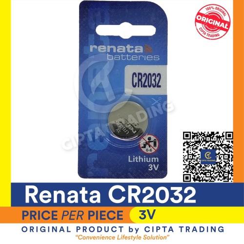Foto Produk Button Cell - Renata - CR2032 dari Cipta Trading