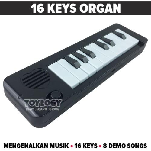 Foto Produk Mainan Edukasi Edukatif Musik Anak Organ Keyboard Piano Demo Songs dari Toylogy