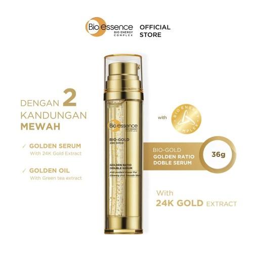 Foto Produk Bio Essence Bio-Gold Golden Ratio Double Serum dari BioEssence Official