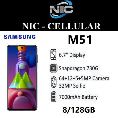 Foto Produk SAMSUNG GALAXY M51 8GB 128GB 8/128 - GARANSI RESMI dari Nic-cell