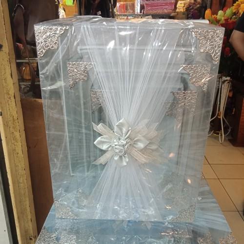 Foto Produk kotak hantaran mika kelambu/ box seserahan mika dari riajava